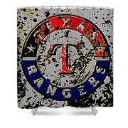 The Texas Rangers 6b Shower Curtain