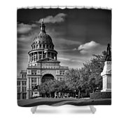 The Texas State Capitol Shower Curtain