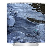 The Thaw Is Coming Shower Curtain
