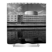 The Theatre Of Oulu  3 Shower Curtain