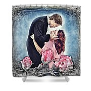 The Thorn Birds Shower Curtain by Mo T