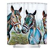The Three Amigos Shower Curtain