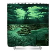 The Three Cities Shower Curtain