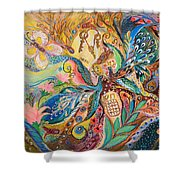 The Three Keys Shower Curtain