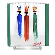The Three Kings Shower Curtain