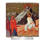 The Three Marys At The Tomb 1311 Shower Curtain
