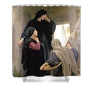 The Three Marys At The Tomb Shower Curtain