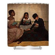The Three Races Or Equality Before The Law Shower Curtain