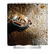 The Tide And Its Takers Shower Curtain