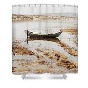 The Tide Is Rising Shower Curtain
