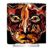 The Tigress. Shower Curtain