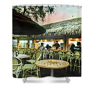 The Tiki Bar Shower Curtain