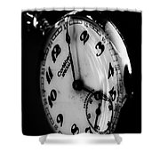 The Time Shower Curtain