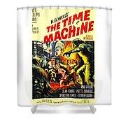 The Time Machine B Shower Curtain