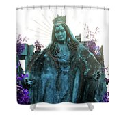The Time Takes Shower Curtain