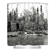 The Timeless Cabin Shower Curtain