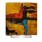 The Timeless Land Shower Curtain
