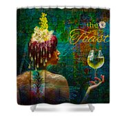 The Toast Shower Curtain