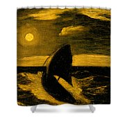 The Toilers Of The Sea Shower Curtain