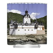 The Toll Castle Shower Curtain