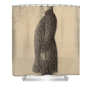 The Top Hat Shower Curtain