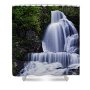 The Top Of Dingmans Falls Shower Curtain