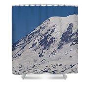 The Top Of Mount Rainier Shower Curtain