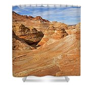 The Top Of The Wave Shower Curtain