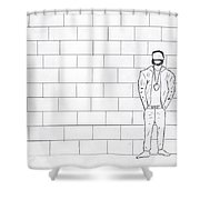 The Topic  Shower Curtain