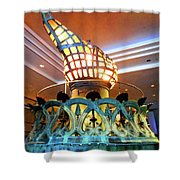 The Torch 1 Shower Curtain