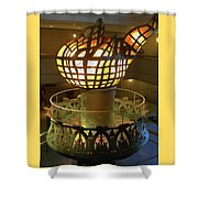 The Torch 3 Shower Curtain