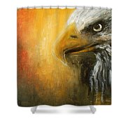 The Totem Shower Curtain