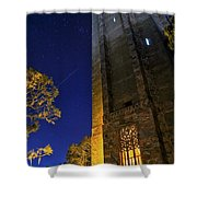 The Tower At Night Shower Curtain