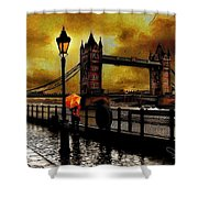 The Tower Bridge As I See Shower Curtain