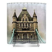 The Tower Bridge In London 2 Shower Curtain
