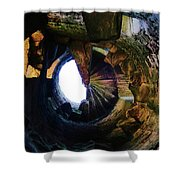 The Tower Stairs Shower Curtain