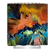 The Towers Of London Shower Curtain