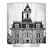 The Town Hall Shower Curtain