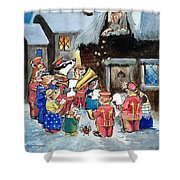 The Town Mouse And The Country Mouse Shower Curtain