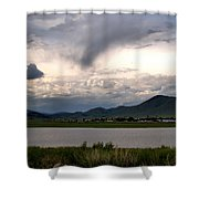 The Town Of Eagle Nest Shower Curtain