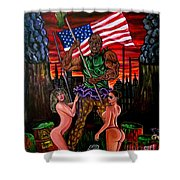 The Toxic Avenger Shower Curtain