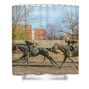 The Track - Thoroughbred Park - Lexington Kentucky Usa Shower Curtain