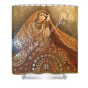 The Traditional Lady Shower Curtain