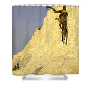 The Transgressor Shower Curtain