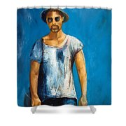 The Traveller Shower Curtain
