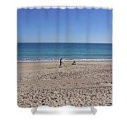 The Treasure Coast At Vero Beach In Florida Shower Curtain