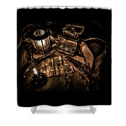 The Treasure Hunt Shower Curtain