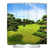 The Tree Garden Shower Curtain