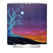 The Tree Of Energy Shower Curtain