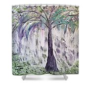The Tree Of Life II  Shower Curtain